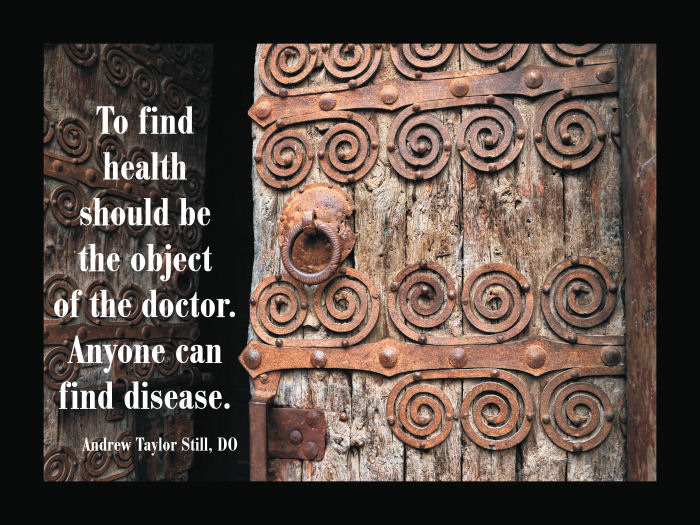 Osteopathic Quote
